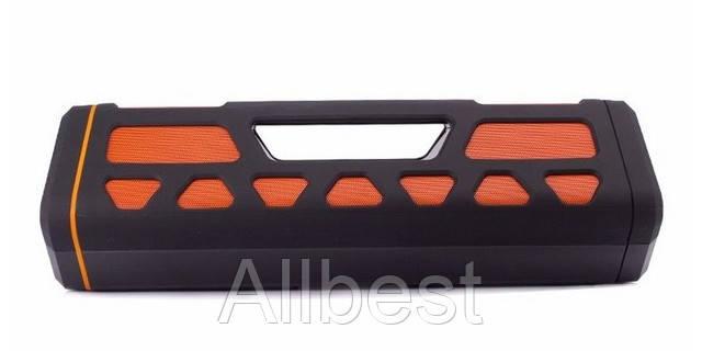 Мощная портативная Bluetooth колонка 20 Вт+Power Bank с ручкой для переноски