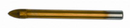Сверло по стеклу и плитке с четырьмя резцами Spitce 10 мм