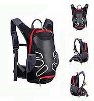 Велосипедный рюкзак R15 с отделением для шлема и выходом для воды