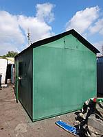 Бытовка строительная, размеры: 3000х4000х2900