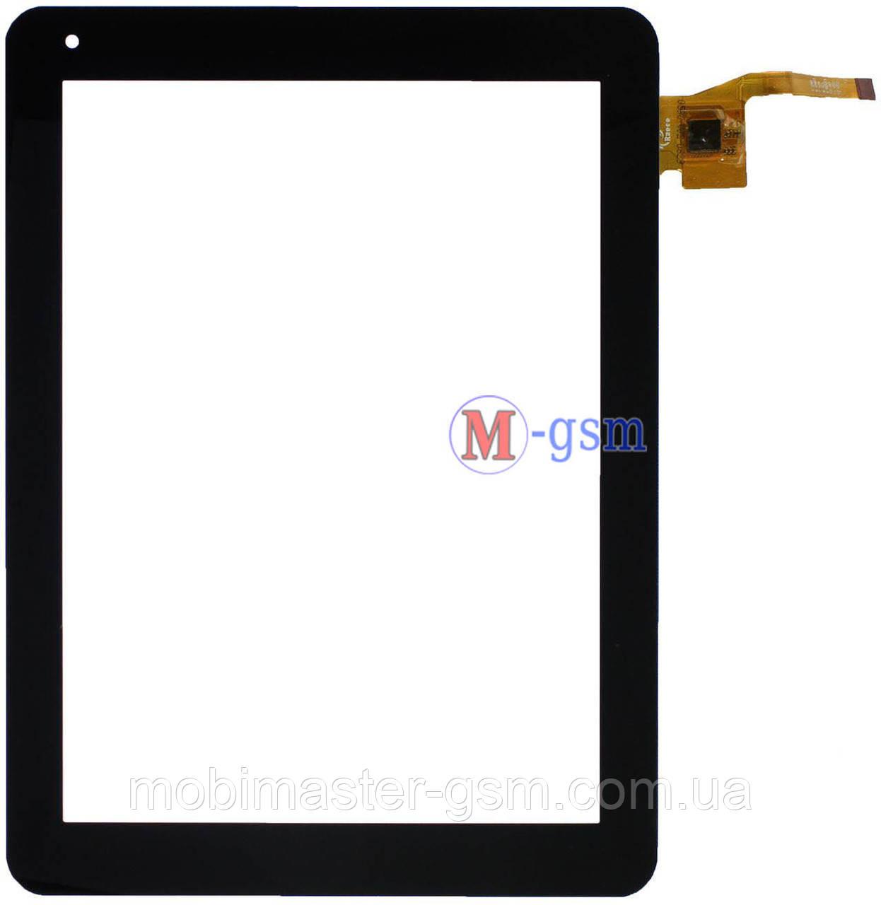 Тачскрин (сенсорный экран) Prestigio MultiPad 4 PMP5297C (p/n: F0422 KDX) черный