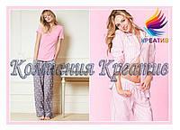 Женские пижамы из флиса с Вашим логотипом (под заказ от 50 шт.)