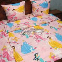 Детский полуторный постельный комплект Принцессы
