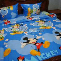 Детский полуторный постельный комплект 1079