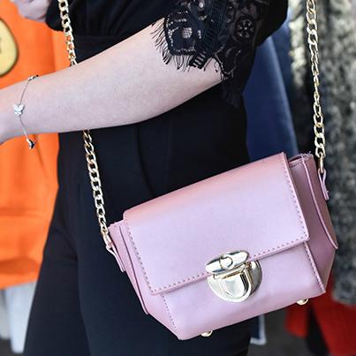 Стильная маленькая сумочка через плечо