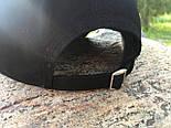Кепка Cap by Supreme черная(бейсболка). Живое фото! (Реплика ААА+), фото 6