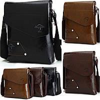 Стильная мужская сумка Keelandy. Размер 23-26-5см