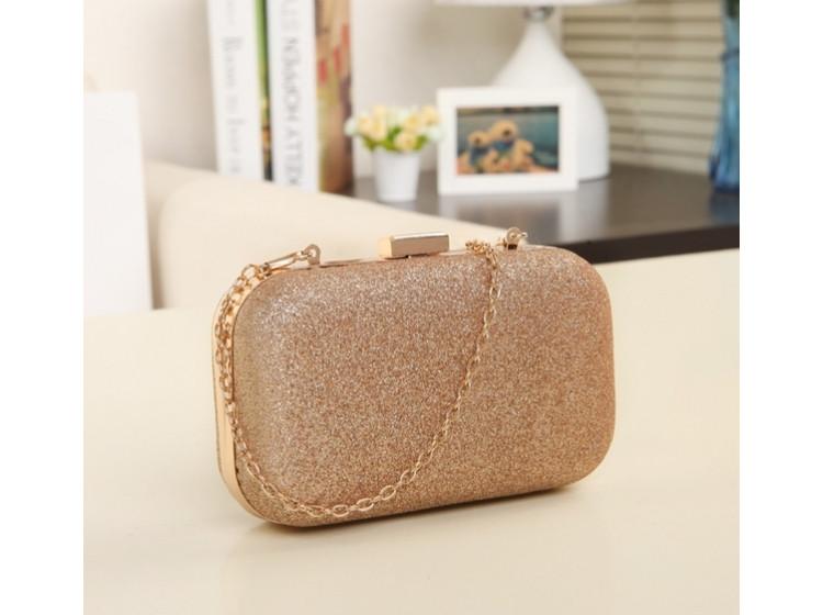 Вечерняя сумка-клатч Chanel Gold