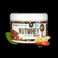 Замена питания арахисовое масло с шоколадом Nutwhey 500 g от AllNutrition