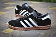 Кроссовки мужские Adidas Originals Hamburg Black