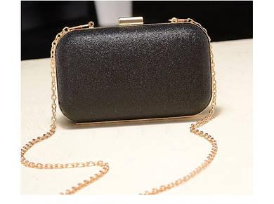 Вечерняя сумка-клатч Chanel Black