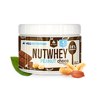 Шоколадное арахисовое масло Nutwhey 0,5кг от AllNutrition