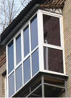 Купить пластиковые балконы в рассрочку Макеевка недорого