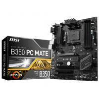 MSI материнська плата sAM4 B350 4D DR4 M.2 TypeC 2PCIex16 ATX B350 PC MATE