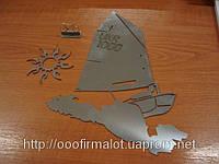 Порезка листового металла лазером