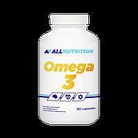 Витамины комплекс омега OMEGA 3 90caps AllNutrition