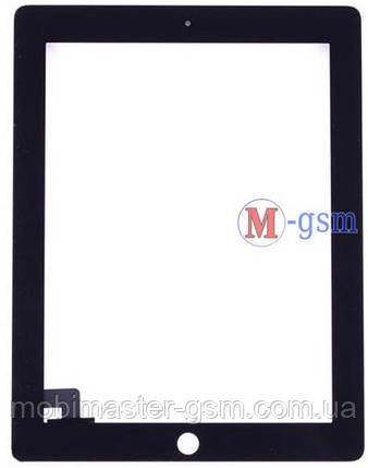 Тачскрин (сенсорный экран) iPad 2 black h/c черный, фото 2