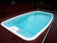 Композитный бассейн европейского качества NAKURU 7,00 x 3,30 x 1,50 м