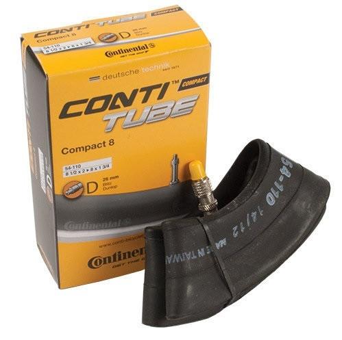 "Камера Continental COMPACT 8"" 8 1/2 x 2 - 8 x 1 3/4 Dunlop 26мм"