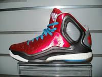 Кроссовки баскетбольные adidas D Rose5 Boost (scarlet/solar blue/black)