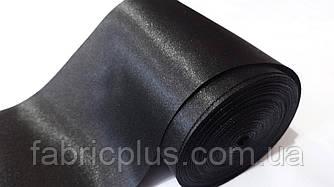 Лента  атласная  10 см черная (Ч1)
