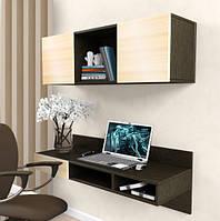Навесной компьютерный стол ZEUS AirTable™ -X1 Kit, Венге