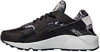 Женские кроссовки Nike Air Huarache Run Snakeskin Print Black