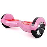 "Гироборд-скутер электрический. 4400 мАч, колеса 8"". Pink INTERTOOL SS-0806, фото 2"