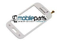 Оригинальный Сенсор (Тачскрин) для Samsung S6500 Galaxy Mini 2 (Белый)