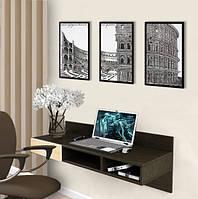 Навесной компьютерный стол ZEUS AirTable™ -X1 Mini, Венге