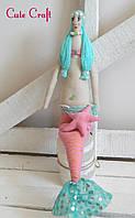 Мягкая кукла русалка Mariya handmade