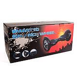 "Гироборд-електричний скутер. 4400 мАч, колеса 10"". Black INTERTOOL SS-1003, фото 9"