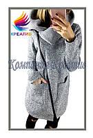 Пальто женское из флиса под заказ (от 50 шт.)