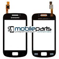 Оригинальный Сенсор (Тачскрин) для Samsung S6500 Galaxy Mini 2 (Черный)