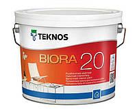 BIORA 20 полуматовая эмаль для внутренних помещений, 9 л