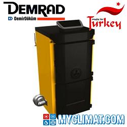 Чугунный твердотопливный котел Demrad Solitech Qvadra Solidmaster 4 F