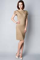 Трикотажное женское летнее платье