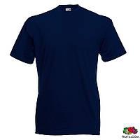 Футболка 'Valueweight T', Темно-синяя, с нанесением логотипа, 0610360AZ