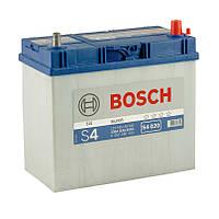 Аккумулятор BOSCH S4  6СТ-45 АЗIЯ Евро (Тонкая клема)