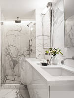 Отделка ванной комнаты натуральным камнем