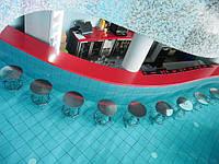 Мебель из акрилового камня для аквазоны
