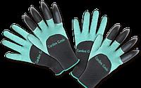Перчатки садовые с когтями Garden Genie Gloves, фото 1