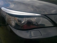 Реснички на фары BMW E60 2003-2010 г.в. БМВ Е60