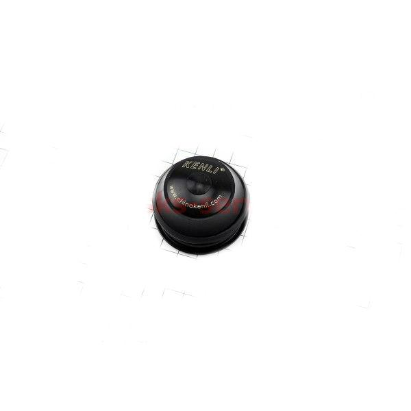 """Рульова чашка 1-1\8"""" без різьб.вилка, полуинтегриров., сепараторні, чорні"""