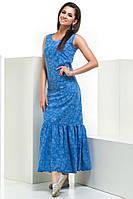Платье с оригинальным дизайном