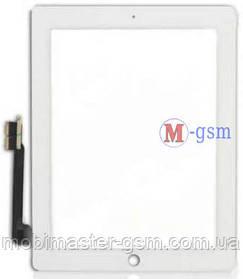 Тачскрин (сенсорный экран) iPad 3,  iPAD 4 Copy белый