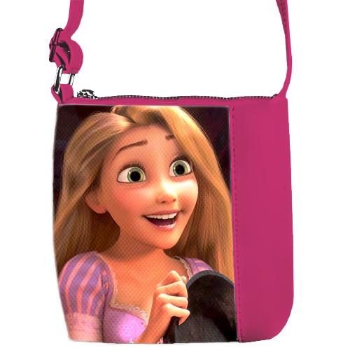 Сумка для девочки розовая Mini Miss Рапунцель