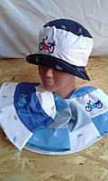 Шляпка летняя для мальчика