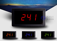 Цифровой Вольтметр переменного напряжения LED, AC70-400V. NEW 2017!
