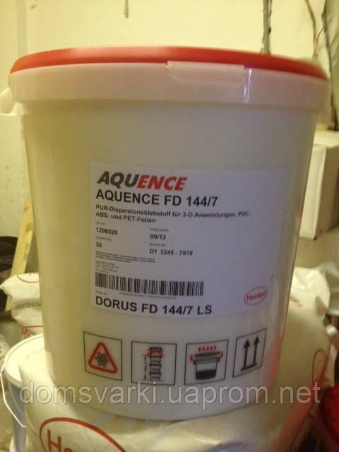 Клей Aquence FD 144/7 для 3x-мерной облицовки МДФ, ДСП